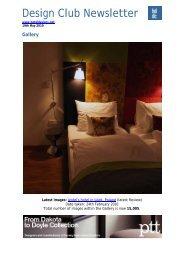 Design Club Newsletter - Hoteldesigns.co.uk