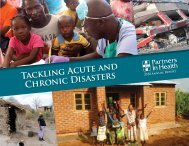 Tackling Acute and Chronic Disasters - GiveWell