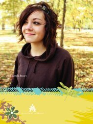 2008 annual report - Austin Children's Shelter