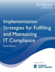 Implementation Strategies for Fulfilling and ... - Communities