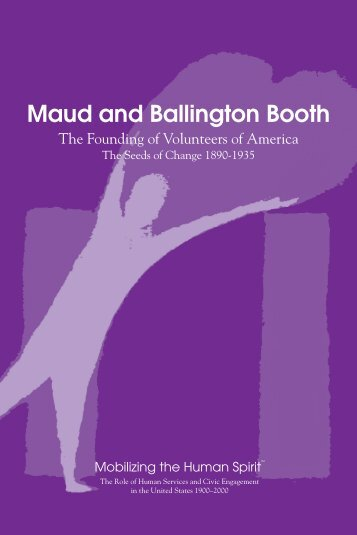 Maud and Ballington Booth - The Human Spirit Initiative