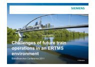 C f f Challenges of future train operations in an ERTMS operations in ...