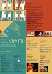 7° FIHumour programme général du 5 au 28 octobre 2012 SUISSE ...