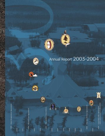 CRA 2003-2004 Annual Report - The Grand Council of the Crees