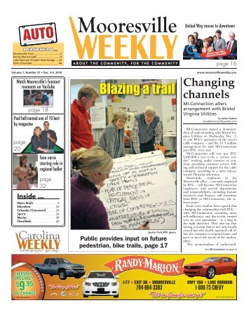 Blazing a trail - Carolina Weekly Newspapers