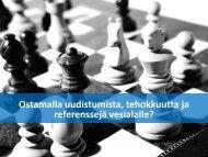 Edelläkävijämarkkinat strategisen uudistumisen välineenä - Tekes