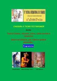 Programma: - Festival international de l'humour