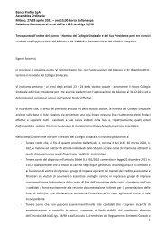 Relazione illustrativa inerente il terzo punto all'ordine ... - Banca Profilo