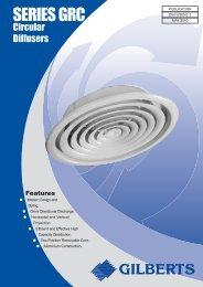 Series GRC Circular Diffusers - Keane Environmental