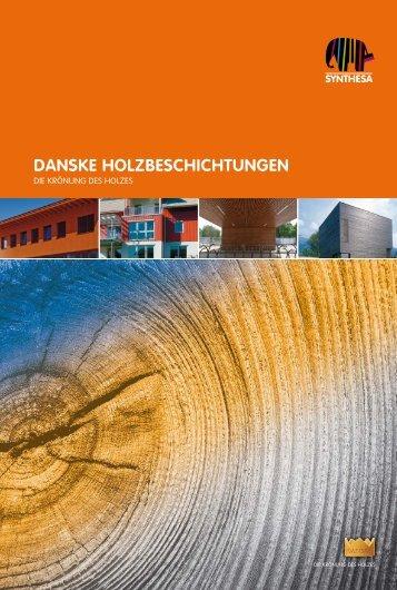 DANSKE HOLZBESCHICHTUNGEN - Synthesa