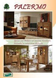 Speisen und Wohnen mit massiver Kernbuche. Holzmöbel in - Gomab