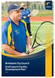 Brimbank City Council Draft Sports Facility Development Plan