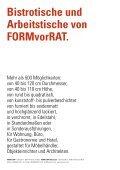 Bistrotische und Arbeitstische von FORMvorRAT. - Seite 2