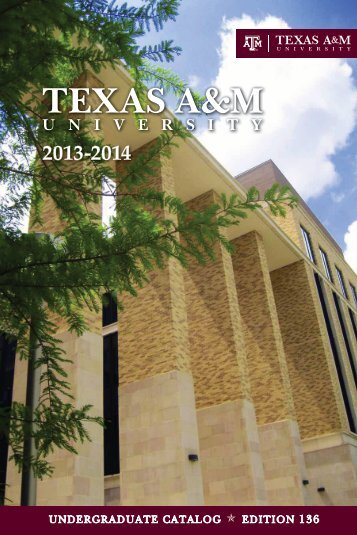 2013-2014 Undergraduate Catalog (Edition 136) Downloadable PDF