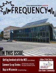 September 2012 - McMaster Engineering Society