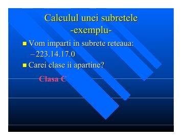 Exemplu 1 subnetting (pdf)