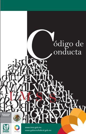 código de conducta-09jun11 - Edumed IMSS - Instituto Mexicano ...