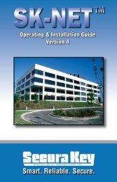 SK-NET™ Operating & Installation Guide - Secura Key