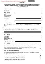 Leitlinie zur Dokumentation der Einwilligung