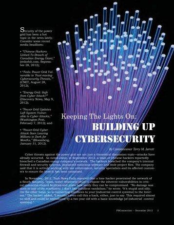 Cybersecurity - Missouri Public Service Commission