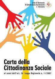 Carta della Cittadinanza - Comune di Benevento