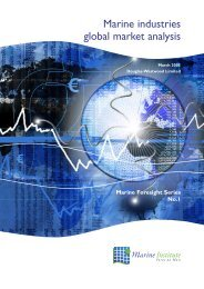 Marine Industries Global Market Analysis - Marine Institute