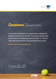Consumer Classroom is a collaborative website for teachers from ...