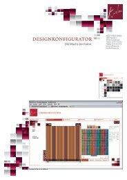 Produktblatt - Designkonfigurator - Rolf Krebs GmbH