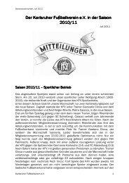 Juli 2011 (Download, pdf-Datei) - Karlsruher FV eV