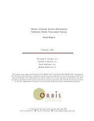 Needs Assessment Survey Final Report - Illinois Criminal Justice ...
