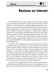 Racismo en internet - Movimiento contra la Intolerancia
