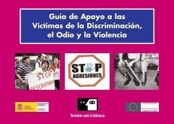 Guía de Apoyo a las Víctimas de la Discriminación, el Odio y la ...