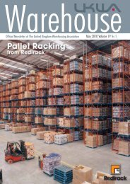 in this issue - United Kingdom Warehousing Association
