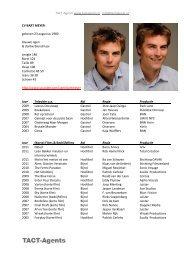 Bart Meyer CV 2012.pdf - TACT-Agents