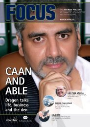 Dragon talks life, business and the den - NSCCI