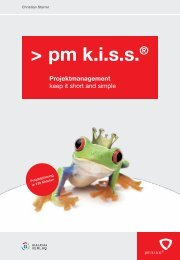 pm kiss® Projektmanagement - pma