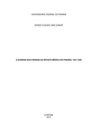 Download Dissertação - Setor de Ciências Humanas UFPR