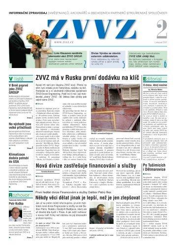 Zpravodaj ZVVZ č.2 - ZVVZ a.s.