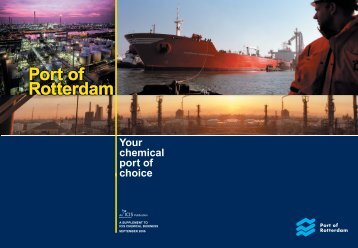 Port of Rotterdam your chemical port of choice