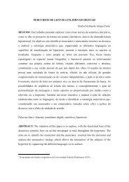 percursos de leitura em jornais digitais - revista Icarahy - UFF