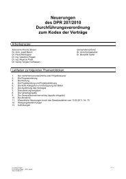 Neuerungen des DPR 207/2010 ... - SuedtirolNews.it