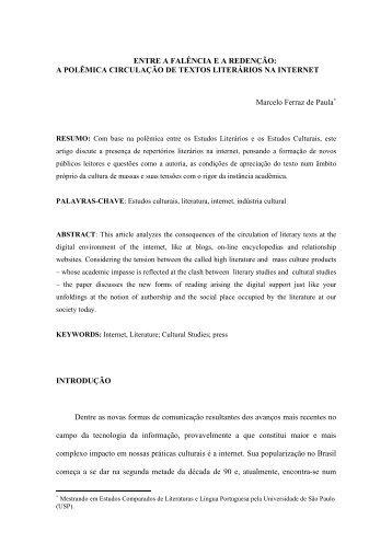 ENTRE A FALÊNCIA E A REDENÇÃO - revista Icarahy