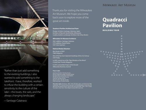 Quadracci Pavilion - Milwaukee Art Museum