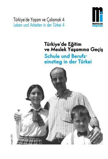 Schule und Berufs- einstieg in der Türkei