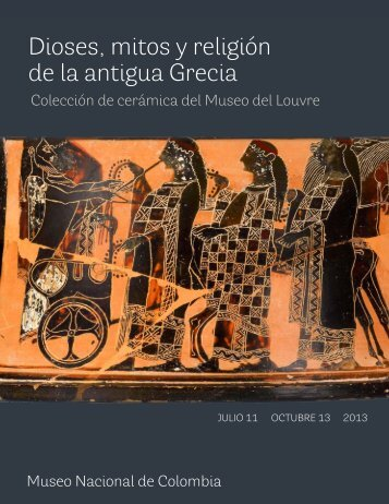 Dioses, mitos y religión de la antigua Grecia - Museo Nacional