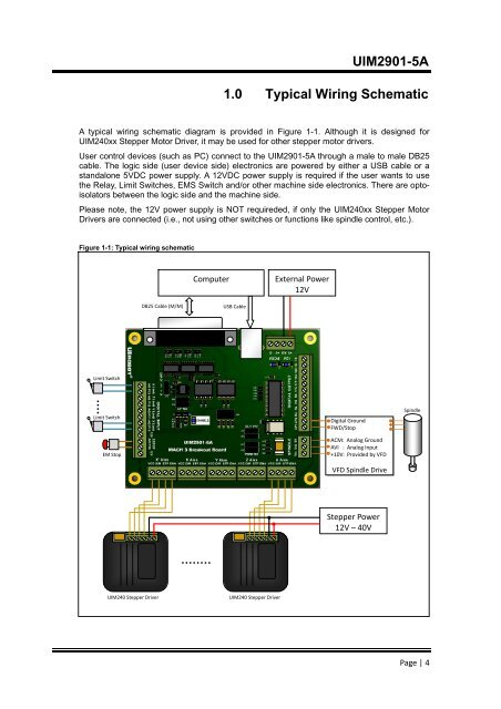 UIM2901- Mach Controller Wiring Diagram on controller accessories, controller cabinet, controller cable, controller battery, controller computer diagram,