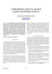A Promising Digital-based Radio Network Over IP