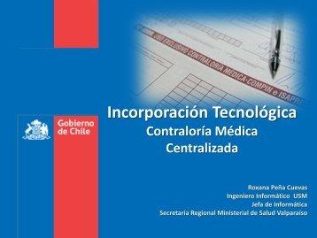 Incorporación Tecnológica - Seremi de Salud Región de Valparaíso