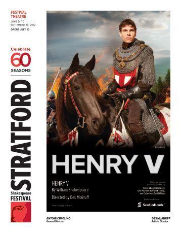 henry v - Stratford Festival