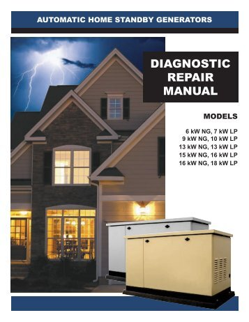 Diagnostic Repair Manual 5200 Series Air Cooled
